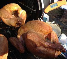 smoked turkey with internal temp