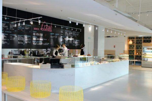 Le Fresh Corner, centre commercial Domus.