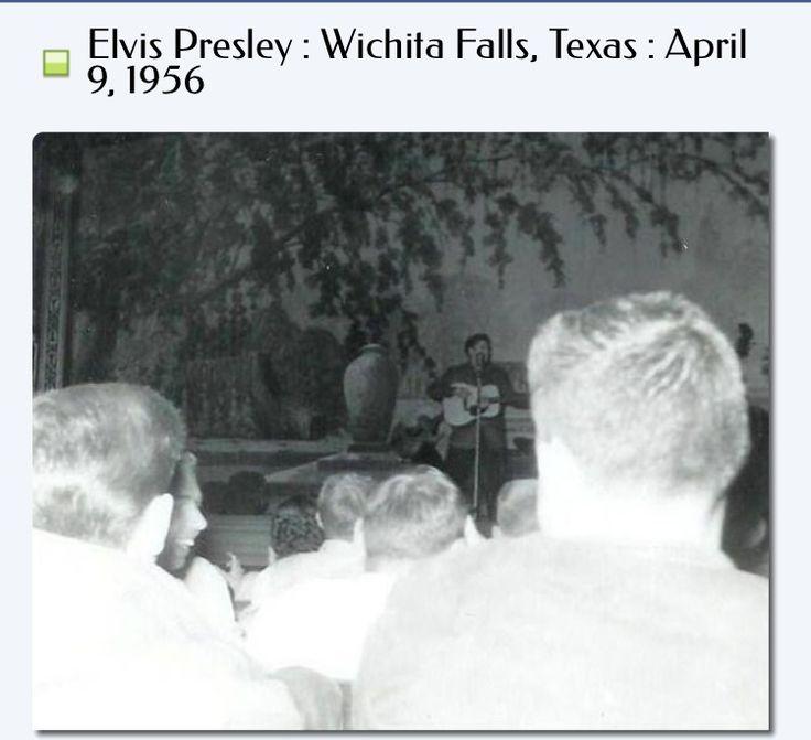 Elvis Presley : Wichita Falls, Texas : April 9, 1956