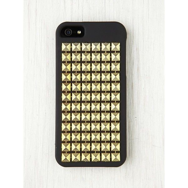 Free People Studded iPhone 5 Case (63 BRL) ❤ liked on Polyvore featuring accessories, tech accessories, phone cases, phone, iphone and cases