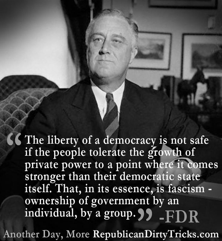 Franklin Roosevelt Quotes Man