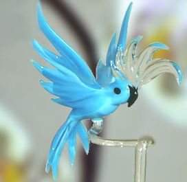 Hand Blown Glass | Hand-Blown Glass Animal (A05) - China Glass Animal,Glass Bird