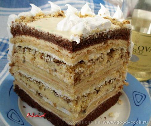 multi-layered cake  крещатый яр http://forum.good-cook.ru/user26707.html