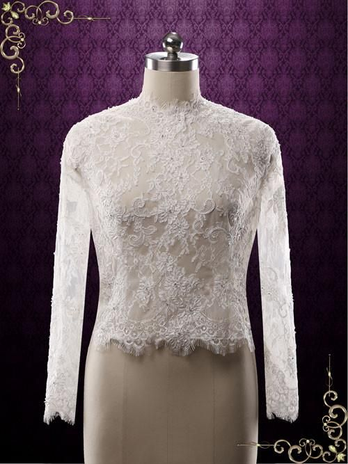 Long Sleeves Lace Bolero | Daisy