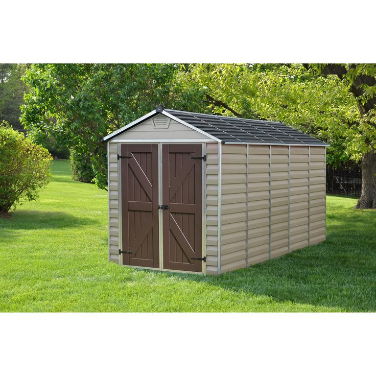 palram skylight tan 6 x 12 ft shed skylight shed 6 x 12 tan aluminum 703391 free delivery and products - Garden Sheds 6 X 3