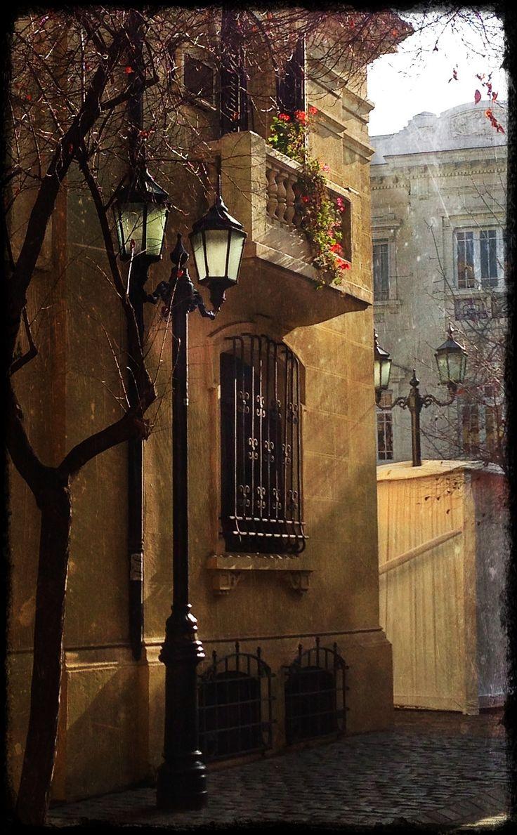Calle Londres. Santiago Chile