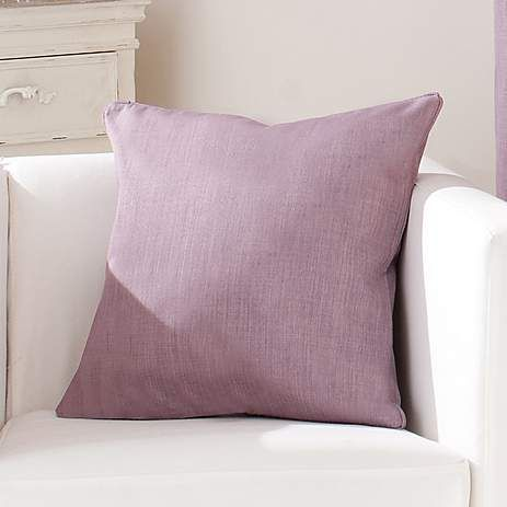 Mauve Solar Cushion Cover   Dunelm