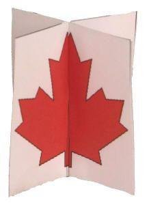 3D Canada Day Craft
