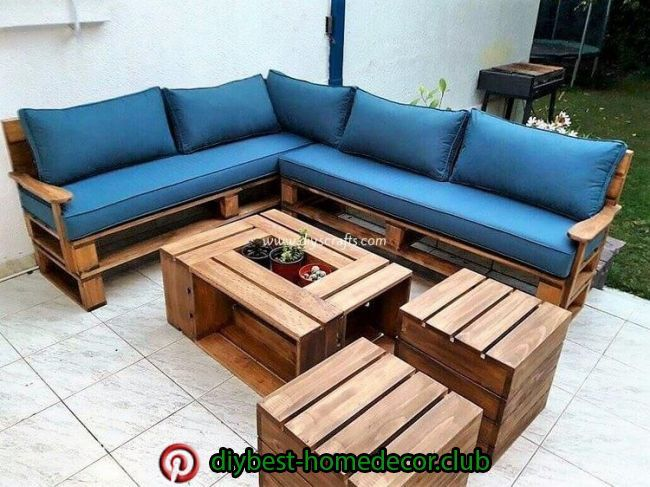 Really Inspiring Ideas With Used Wood Pallets Pallet Patio Furniture Discount Outdoor Furniture Pallet Furniture Outdoor