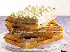 """Geslaagde eerste poging tot Brusselse wafels bakken! Recept """"Traditionele Brusselse wafels"""" op Libelle Lekker!"""
