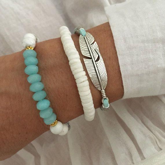 Boheemse sieraden veer armband stapel boho stijl faux suede