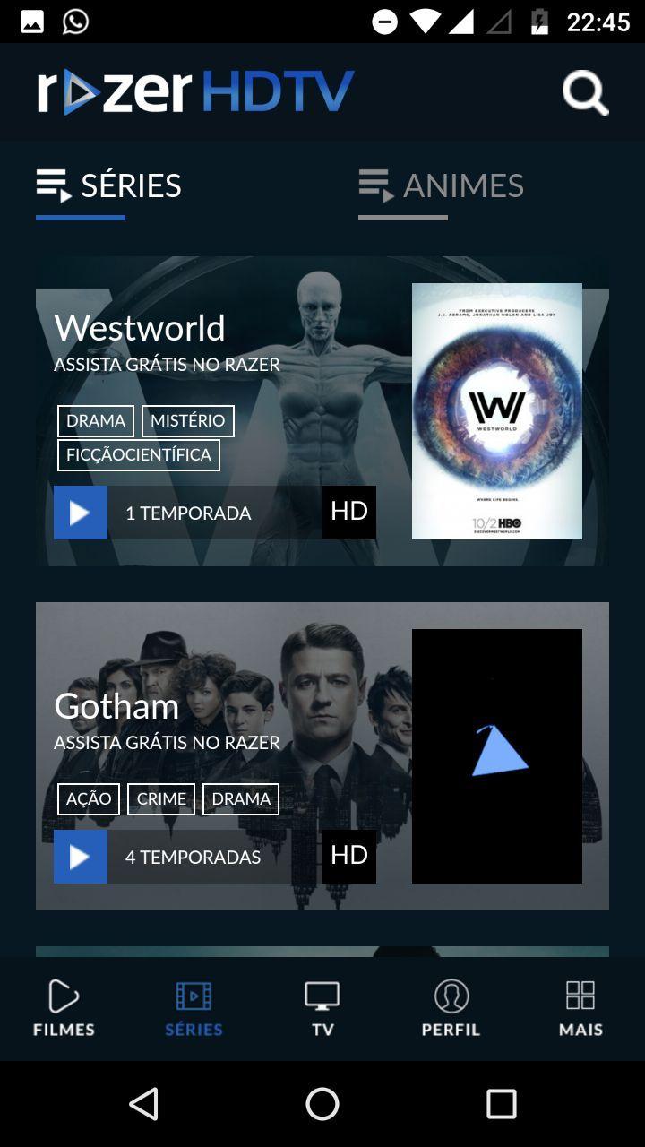 Razer Hdtv Apk Melhor App De Filmes E Series 2018 Com Imagens