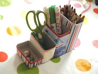 .: Crafts For Kids, Pencil Pots, Gift Ideas, Cereal Boxes, Fathers Day, Father'S Day, Craft Ideas, Box Pencil