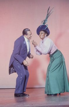 Cab Calloway & Pearl Bailey , such a beautifully colored picture