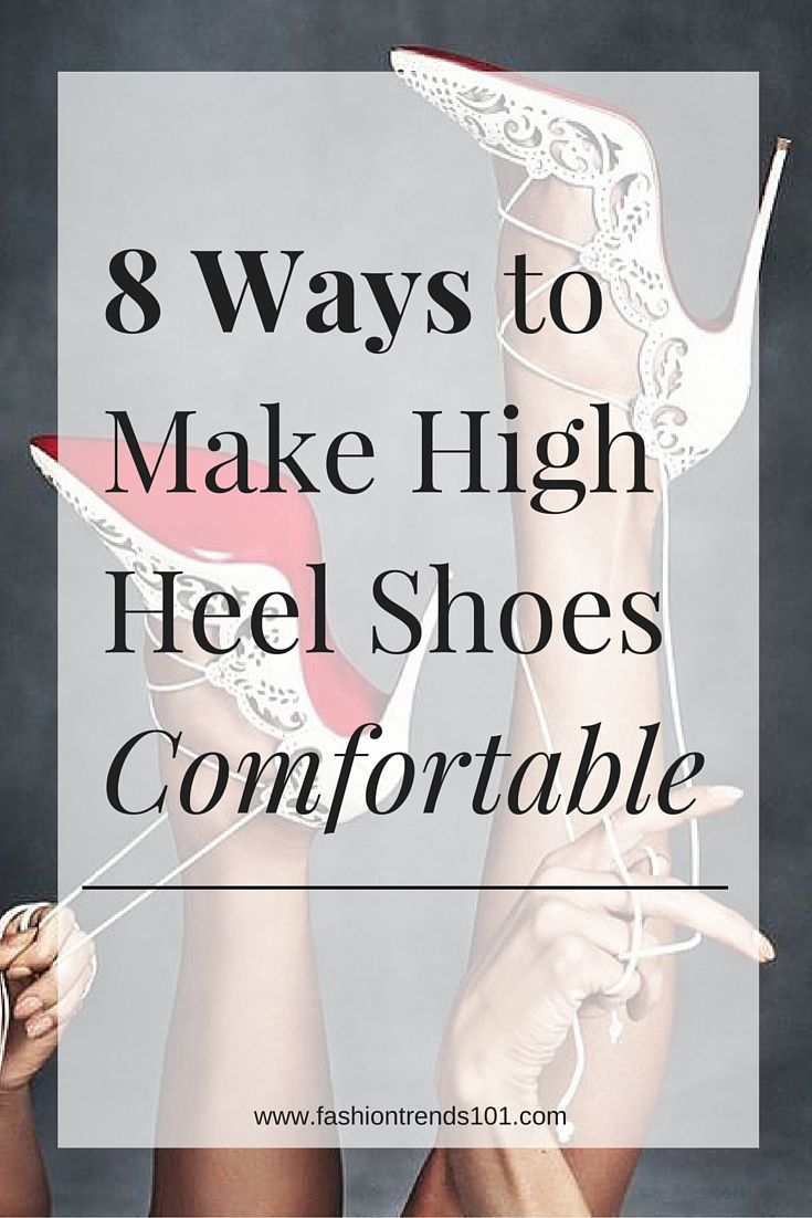 How To Make High Heel Shoes