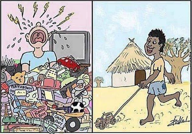 humor grafico la felicidad