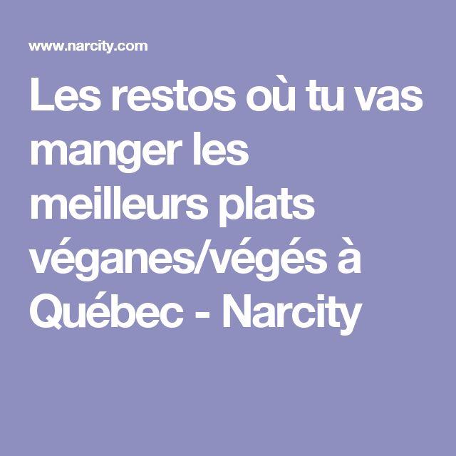 Les restos où tu vas manger les meilleurs plats véganes/végés à Québec - Narcity