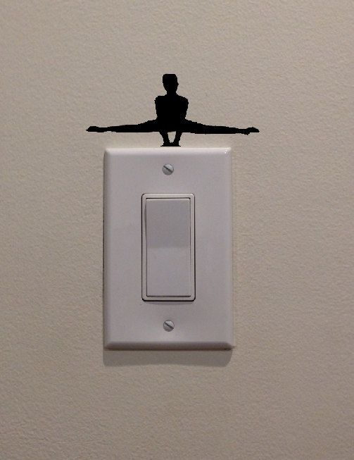 Yoga Wall Light : 17 Best images about WD - Switches on Pinterest Vinyls, On light and Kitchen cabinet decorations