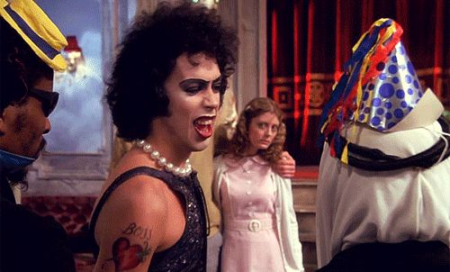 "It was Tim Curry's feature film debut. | 21 Facts You Probably Didn't Know About ""The Rocky Horror Pictures Show"" You can not watch it with out singing along to it or dancing the the Time Warp."