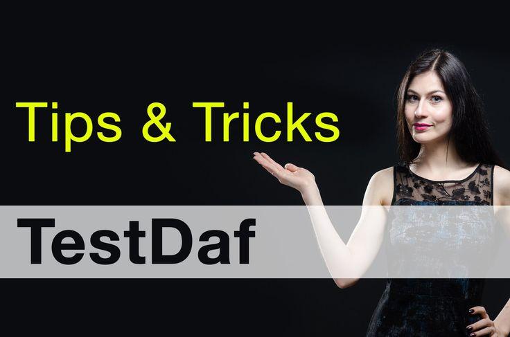 Tipps & Tricks TestDaf #Беруши