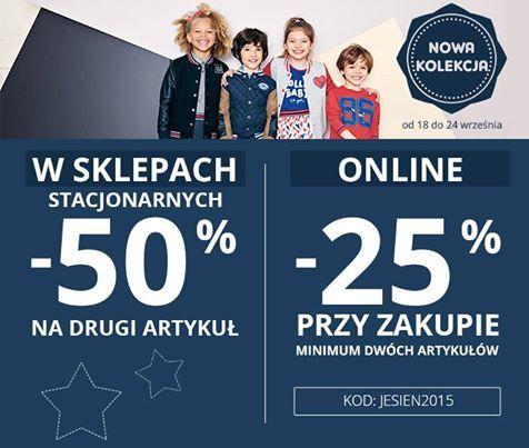 Od 18 do 24 września zapraszamy do sklepów stacjonarnych i www.dpam.pl po atrakcyjne rabaty na Nową Kolekcję Jesień-Zima 2015 :) Nie przegapcie tej okazji!