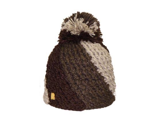 Bonnet Ice Tricot marron #bonnet #ski #herman1874 #rentree