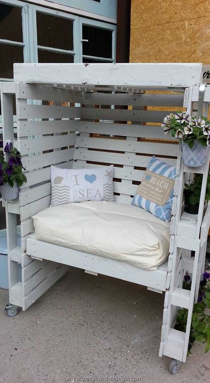 Multipurpose Patio Furniture Made Out Wood Pallets From Pallet Recycling Ideas And Designs Source Heroscale