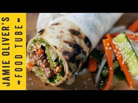 ▶ Pork Fillet Wrap with Chinese Glaze | Aaron Craze's Street Food - YouTube