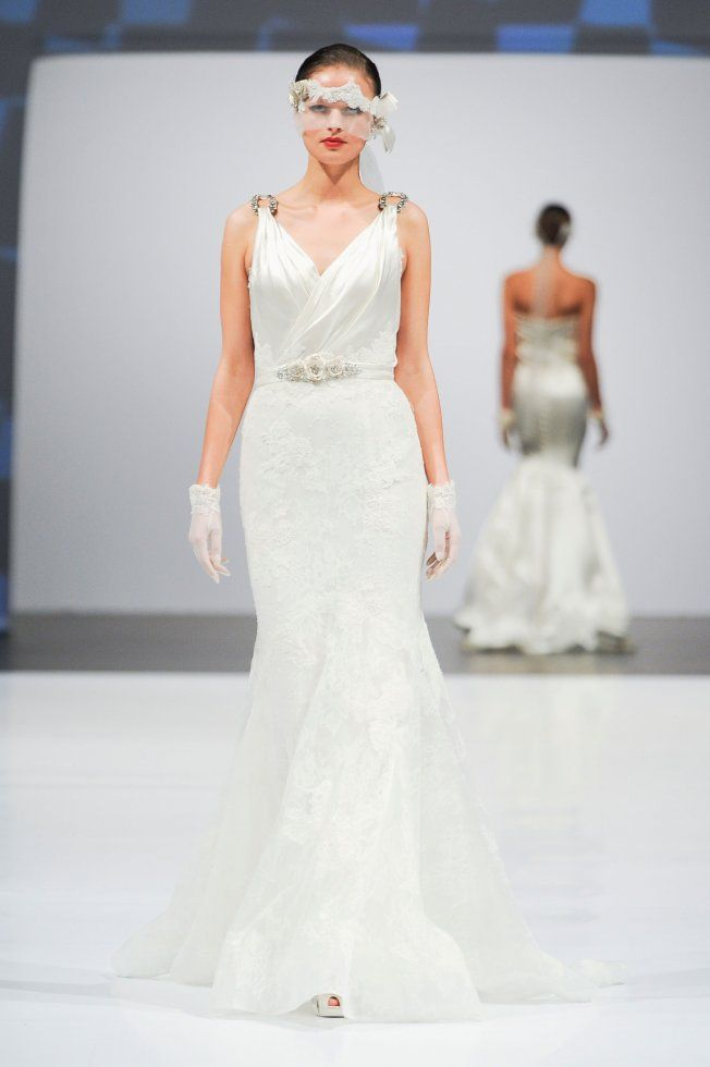 Robe de mariée Lusan Mandongus collection 2014