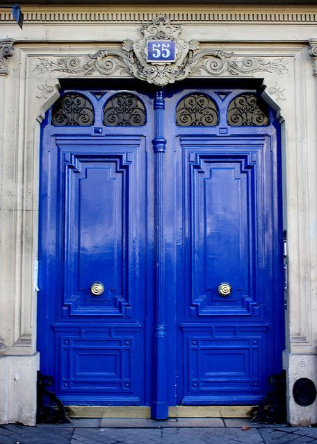 MY DREAM HOME: A COLORFUL FRONT DOOR | the obsessive imagist