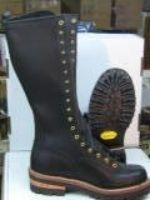 """10"""" Pole Climber Boots - Hoffman Boots - For all your Boot Needs"""