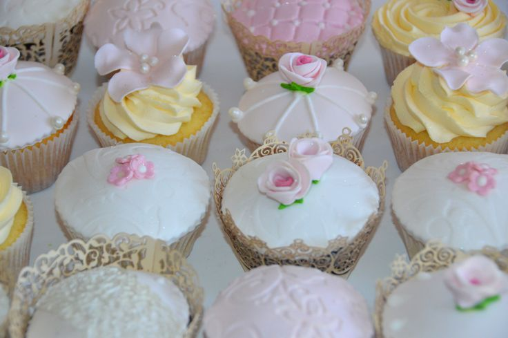 Sweet Joy Cupcakes blush pink