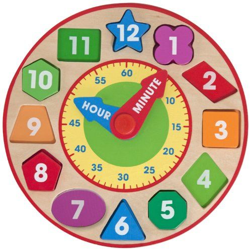 50 Best Images About Teaching Clocks For Baby And Toddler