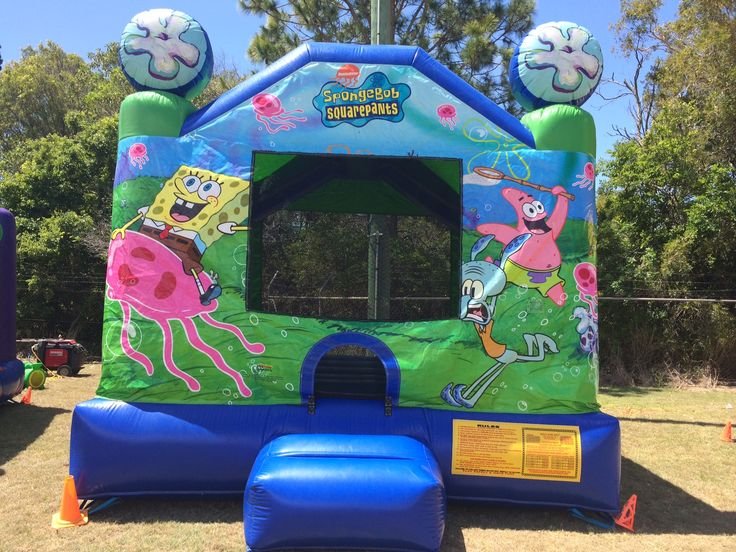 Sponge Bob 4x4m jumping castle