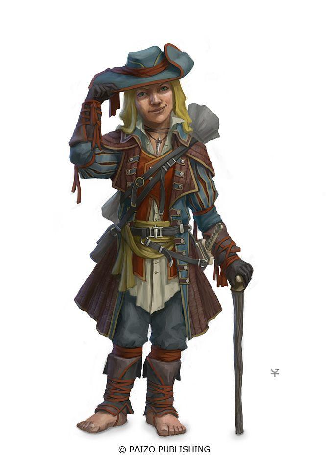 Halfling male rogue fantasy naturey rpg larp dungeons and dragons