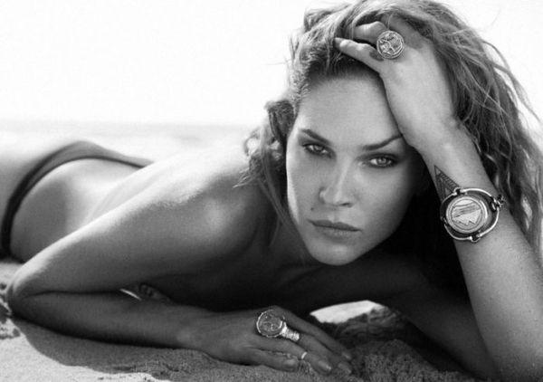 erin wasson topless beach shoot
