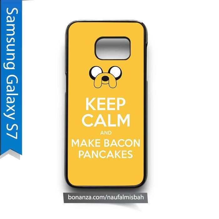 Jake Dog Keep Calm and Make Bacon Pancakes Samsung Galaxy S7 Case Cover