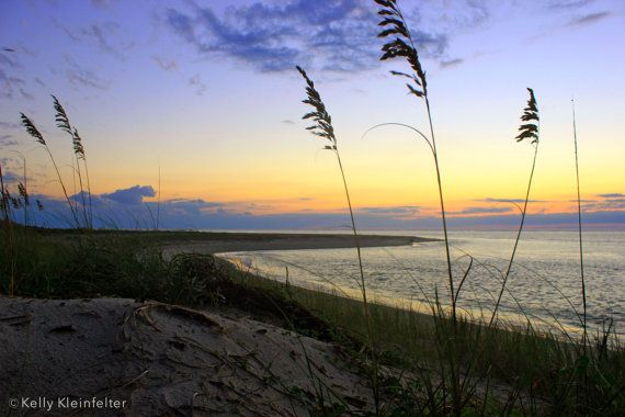 Sweetgrass Sunsets // Bald Head Island NC by KleinfelterDesigns