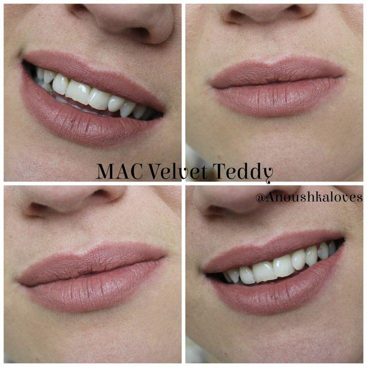 Lipstick Week: MAC Velvet Teddy Lipstick - Anoushka Loves