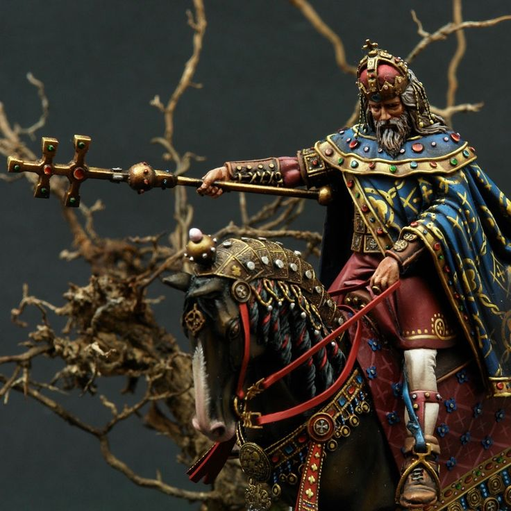 Sculped by me Painted by Chris Panagiotou Photos: Mr Black Publications Stephen I, also Saint Stephen was the last Grand Prince of the Hungarians between 997 and 1000 or 1001, and the first King of Hu…