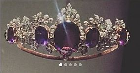 a full face image of the amethyst tiara