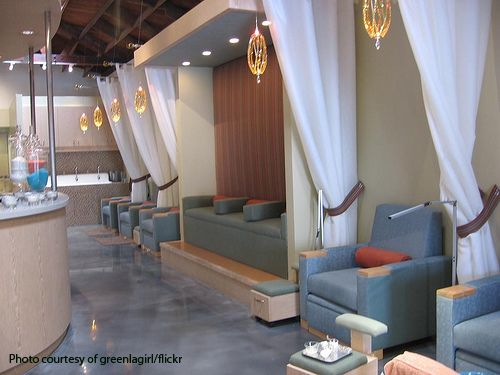 recess organic nail salon in la