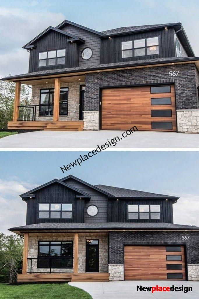 45 Beautiful Modern Country House Design Ideas 10 Metal Building Homes House Designs Exterior Modern Farmhouse Exterior