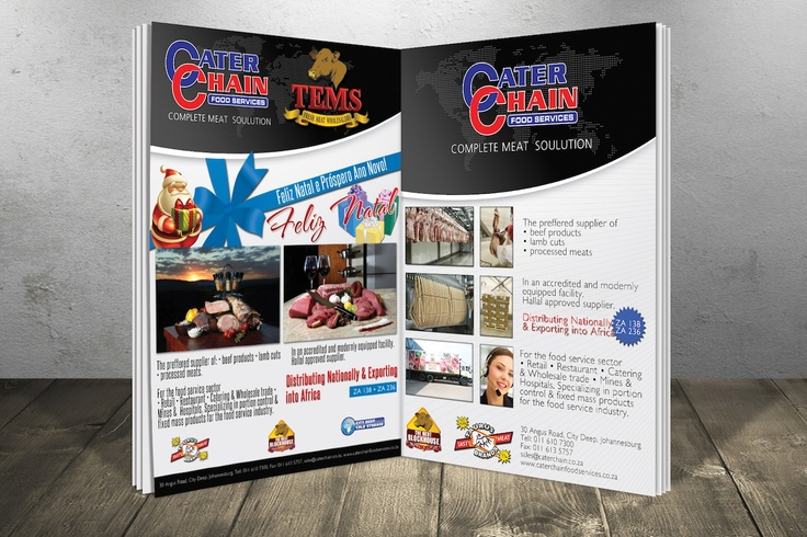 Cater Chain Magazine Advert