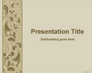 Decorative PowerPoint Template