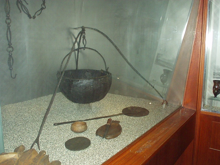 Hanging Cauldron And Tripod (Viking Ship Museum, Oslo)
