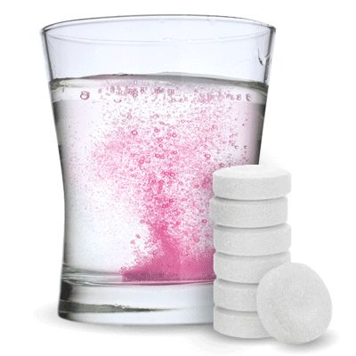 These tasty drink tablets reveal a bubbly pink or blue surprise when dropped in a glass of lemon-lime soda, water, champagne, or other clear or lightly colored beverage of your choice. What better way to reveal your big news than with an instant toast? Gender Reveal Fizzies are sold in packs of 12 tablets.