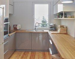 Mała kuchnia w kształcie litery u, styl nowoczesny - zdjęcie od LUIZA STAR