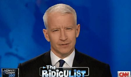 Everyone thinks my dad looks like Anderson cooper. He's always approached by people that think he's Anderson cooper