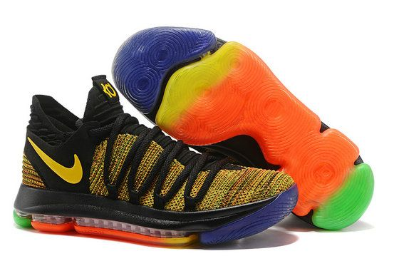 Nike Kevin Durant Cool Nike Zoom KD 10 Elite Kevin Durant X For Discount With High Quality Nike Basketball Shoes Bright Jam 2017 Lastest Release